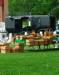 Amish wares available on Saturdays in Lanesboro, MN