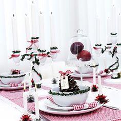 Lantlig jul med charm!