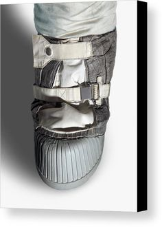 Apollo Astronaut Boot Canvas Print / Canvas Art by Detlev Van Ravenswaay Nasa Space Program, Space Fabric, Space Suits, Space Fashion, Canvas Art, Canvas Prints, Got Print, Canvas Material, Apollo