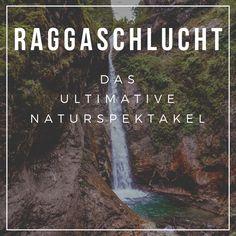 In der Raggaschlucht in Österreich trifft wildes Wasser auf Gestein und bahnt sich seinen Weg. Atemberaubende Wasserfälle werden zu einem Naturspektakel in Flattach im Kärntner Mölltal, sodass das Mund vor lauter Staunen offen bleibt! Die ultimativen Tipps zu Wasserfälle in Österreich findet ihr auf unserer Homepage #urlaubinösterreich #urlaubinkärnten #wanderninösterreich #wasserfall #raggaschlucht #hike Road Trip Europe, Camping, Places, Holiday, Nature, Traveling, Inspiration, Europe Travel Tips, Waterfall