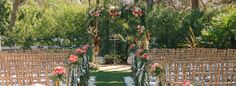 The Red Horse Barn, located in Huntington Beach, Orange County, California, is a rustic, elegant outdoor wedding venue that can accomodate up to 250 guests.