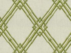 Brunschwig & Fils BAMBOO TRELLIS GREEN 8012123.3 - Kravet - New York, NY, 8012123.3,Brunschwig & Fils,Embroidery,Green,Medium Duty,S,Up The Bolt,Lattice/ScrollWork,Upholstery,India,Yes,Brunschwig & Fils,Le Jardin Chinois,BAMBOO TRELLIS GREEN