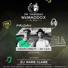 There's just one more day until the #MaddoxClubWeekend begins and it's going to be a good one! #onThursdayWeMADDOX