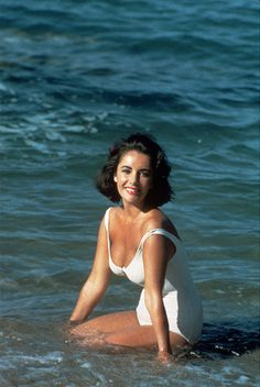 Elizabeth Taylor as Catherine Holly in 'Suddenly, Last Summer', 1959.