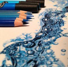 Example: colored pencil- Karla Mialynne