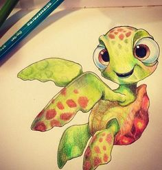 Squirt! Man i wish i could draw like that
