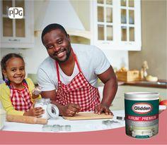 Por su lavabilidad, bajo olor y alto poder cubriente, utiliza Aurum™ Premium en la cocina y dedicate a compartir momentos únicos con las personas que más quieres.  #DeGliddenParaTi