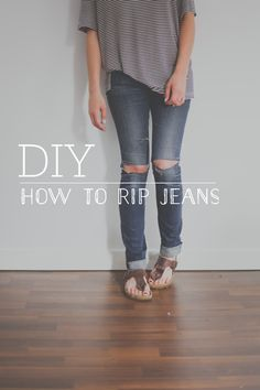If you follow us on Pinterest, you'll have noticed our latest obsession with ripped jeans.