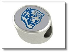 These Memphis Tigers Pandora charms are perfect to add to your Pandora bracelet. If you have a Tiger fan in your life, these charms make the perfect gift. Memphis Tigers, Pandora Charms, University, College, Charmed, Gift Ideas, Gifts, Presents, Favors