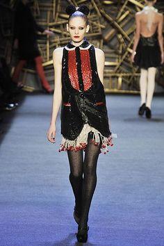 Zac Posen Fall 2008 Ready-to-Wear Fashion Show - Heidi Mount