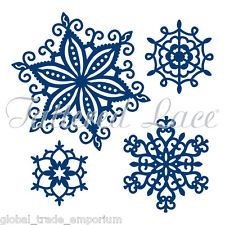 NEW Tattered Lace 'SNOWFLAKES' Chri...