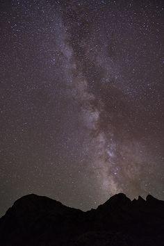 Vía Láctea desde Picos de Europa