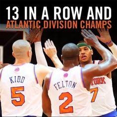 2013 Atlantic Division Champs - New York Knicks