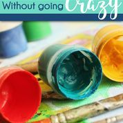 Hands on and crafty activities  are wonderful for speech and language development! They engage different senses, target multiple goals, and they are also super fun for you and your students! But let's face it they can be messy, take up time, and take up valuable space!  So how can you do hands on activities without going crazy? Don't worry, I've got you covered.