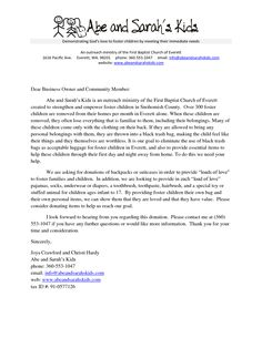 Contribution Donation Letter - The contribution letter samples are ...