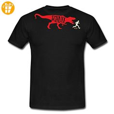 TRex Schule RAHMENLOS Shirt Geschenk Weihnachten Männer T-Shirt von Spreadshirt®, 3XL, Schwarz - Shirts zum 30 geburtstag (*Partner-Link)