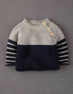 the oslo knitted sweater free knitting pattern httpwwwravelrycompatternslibrarythe oslo - PIPicStats Knit Baby Sweaters, Boys Sweaters, Winter Sweaters, Baby Knits, Baby Boy Sweater, Knitted Baby Clothes, Pullover Sweaters, Winter Jumpers, Knit Baby Dress