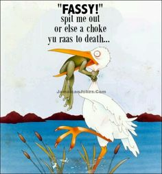 Never give up frog picture with a little frog struggling not to be eaten by stork. Funny never give up picture with frog and stork cartoon of don't ever give up. Motivational Quotes, Funny Quotes, Life Quotes, Inspirational Quotes, Quotes Pics, Insightful Quotes, Motivational Pictures, Quotes Images, Daily Quotes