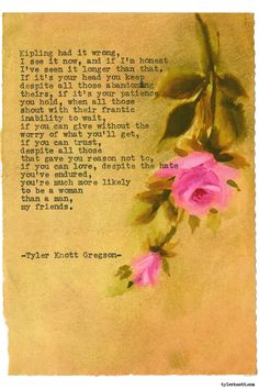 Typewriter Series #1586 by Tyler Knott Gregson Chasers of the Light & All The Words Are Yours are Out Now!
