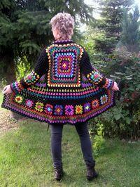 Tecendo Fios. Profissão, Arte e Terapia através do crochê, tricô e muito mais: PRÓXIMO PROJETO - PEÇAS COM SQUARES DE CROCHÊ