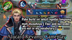 Alucard Revamp Gameplay!! Ini Dia Build Tersakit Alucard Revamp 2020 - A... Alucard Mobile Legends, Comic Books, Comics, Cover, Youtube, Cartoons, Cartoons, Comic, Comic Book