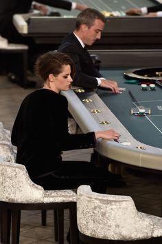 Kristen Stewart Photos — Actress Smokes At Casino With Julianne Moore At Chanel Show In Paris | Radar Online