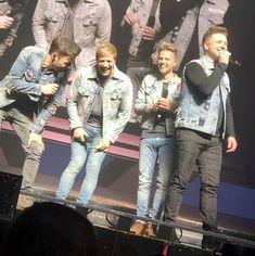 Westlife 'ecstatic and emotional' as comeback tour kicks off in Belfast - Video - Tatahfonewsarena Kian Egan, Mark Feehily, Nicky Byrne, Shane Filan, Croke Park, Uk Charts, Celebrity Gist, Irish Boys, Belfast