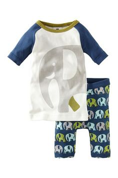 Elephant Pajamas (Baby Boys) by Tea Collection on @HauteLook