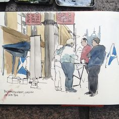 Stall for Yes Scotland