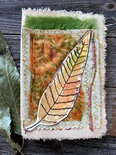 Journal Art — Carol Ann Webster Carol Ann, Fiber Art, Journal, My Favorite Things, Fabric, Seven Deadly Sins, 7 Sins, Tejido, Tela
