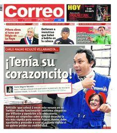"""WASU con la TAPA de """"Correo"""" sobre la revocatoria a Susana Villarán que se les chorreó de las manos..."""