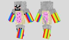 Nyan Cat Skin para Minecraft