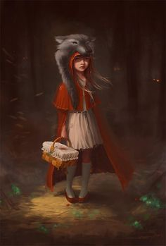 """Red Riding Hood"" by *SneznyBars"