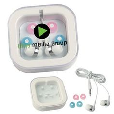 Ear Buds in Case - 2700 - IdeaStage Promotional Products