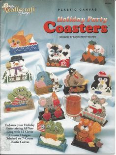 Plastic Canvas Pattern Holiday Party by KnitKnacksCreations