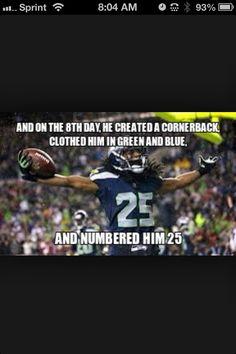 Richard Sherman Seattle Seahawks meme