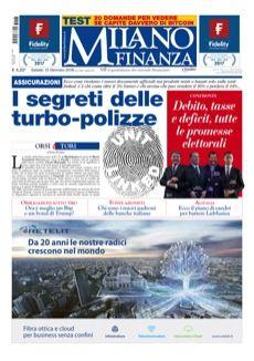 copertina Milano Finanza