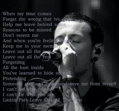 Leave out all the rest- Linkin Park