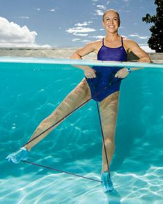 Great #Water workouts to test out in your #Pool or #Spa Water Aerobic Exercises, Water Workouts, Swimming Pool Exercises, Pool Workout, Toning Workouts, Swimming Pools, Swim Technique, Fitness Marshall, Water Aerobics