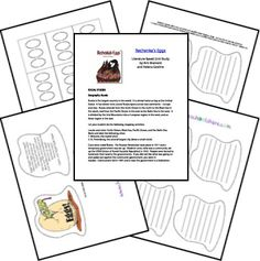 Rechenka's Eggs by Patricia Polacco Unit from Homeschool Share