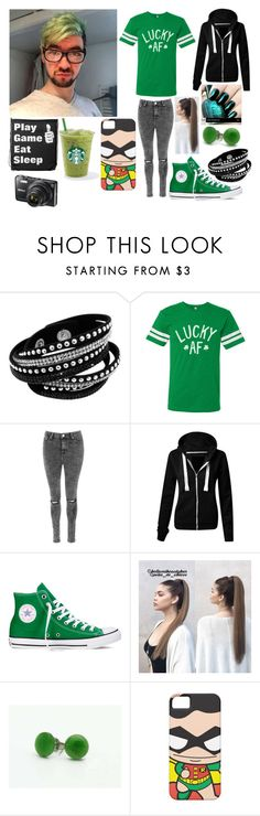 """Meeting JackSepticEye"" by originalmrsmalfoy1 ❤ liked on Polyvore featuring Glamorous, Converse and Nikon"
