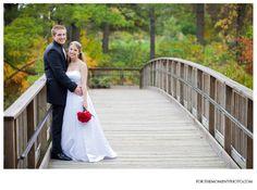 Wedding portrait photos at SIUE via Bolla Photography