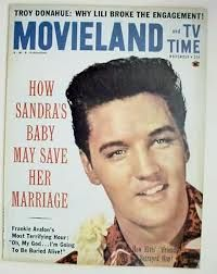You gotta love Elvis! You don't have a choice, jack. Here  the King graces the cover of MOVIELAND AND TV TIME magazine from - you guessed it - 1961.