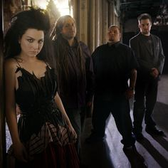 Evanescence.    Now I Will tell you what I've done for you  Fifty thousand tears I've Cried  Screaming, decieving, and bleeding for you  And you still won't hear me