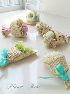 Petit Floral Bouquet with preserved flowers