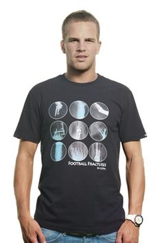 COPA Football Fractures T-shirt by @COPAfootball retro football shirts, T-shirts and more #in