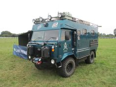 Landrover 101 Adventure Camper and Camping Trailer