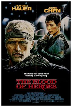 The Blood of Heroes Stars: Rutger Hauer, Joan Chen, Delroy Lindo, Vincent D'Onofrio, ~ Director: David Webb Peoples David Webb, Mad Max, Blade Runner, Hero Movie, Movie Tv, 80s Movies, Movie Props, Fiction Movies, Science Fiction