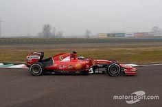 Giovinazzi makes Ferrari F1 debut at Fiorano