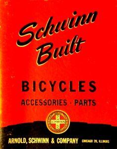 old schwinn catalogs